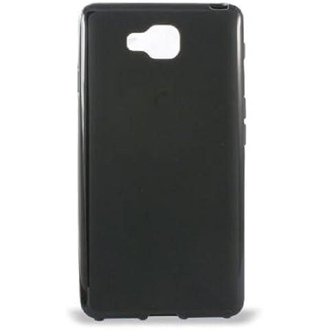 Ksix B4537FTP01 - Funda flex TPU para LG Optimus L9 II, Negro