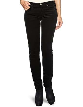 Lee Women's Jade Skinny Jeans, Black, W24/L31