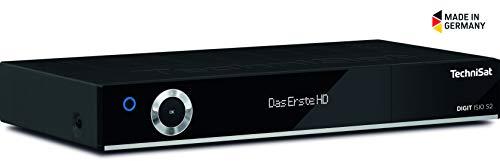 TechniSat DIGIT ISIO S2 HD Sat-Receiver mit PVR-Aufnahmefunktion via USB oder im Netzwerk, Timeshift, UPnP-Livestreaming, schwarz