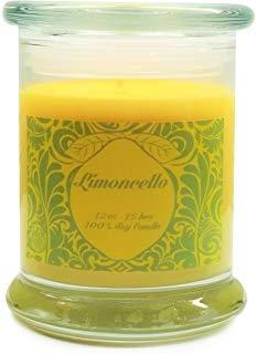 Limoncello Duftkerze Sojawachs. Aromatherapie Soja Kerzen brennen von ~ länger ~ ungiftig ~ 100% yinzer Made in USA. Geschenk für besondere Anlässe-S & M Candle Factory Green Label