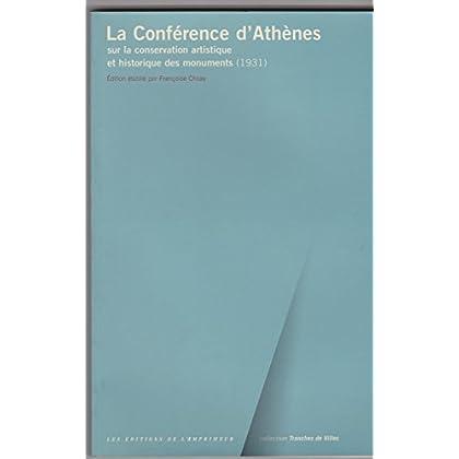 La Conférence d'Athènes sur la conservation artistique et historique des monuments, 1931
