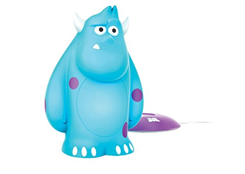 Philips Disney Monster AG Sulley LED Nachtlicht, blau, 717058316