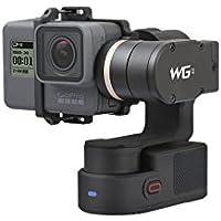Feiyu-tech WG2 Stabilisateur pour Smartphone/Action Cam 3 Axes Wearable Gimbal IP67 Imperméable avec de Nouvelles Trépied Autorotation d'étanchéité,Bluetooth Contrôle