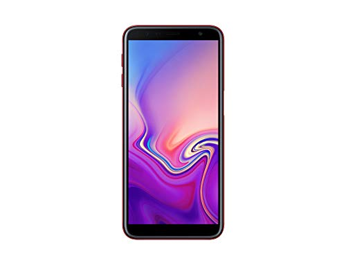 "Samsung Galaxy J6+ (2018) Smartphone, Red, Display 6.0"" 32 GB Espandibili, Dual Sim [Versione Italiana]"