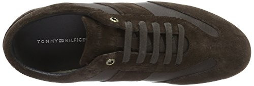 Tommy Hilfiger O2285tis 2c, Sneakers Basses Homme Beige (Coffeebean 018)