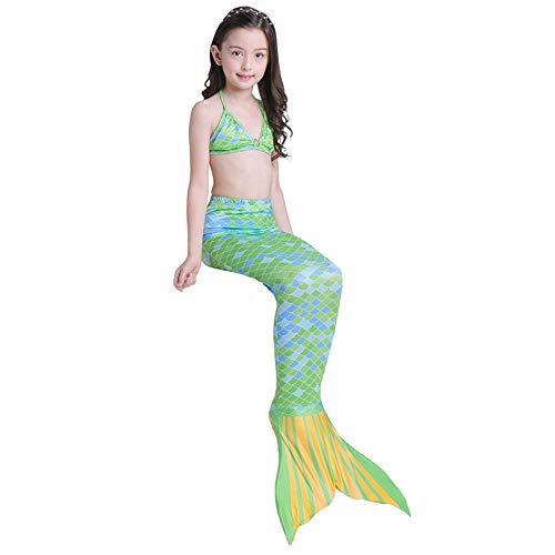 41d93c9b1555 DOLDT1 The Little Mermaid Tail Aqua Princess Cospaly Trajes de baño Bikini  Traje de Cuello