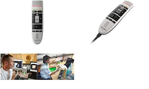 Philips, LFH3210 SpeechMike USB-Diktiermikrofon Schiebeschalter-Bedienung -