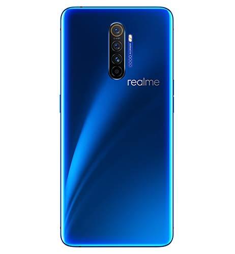 """Realme X2 PRO Smartphone 6.5"""", 12 GB RAM / 256 GB ROM, SuperAMOLED, Processore Octa-Core, Quad Camera 64 MP e 16 MP, Dual Sim, Blu"""