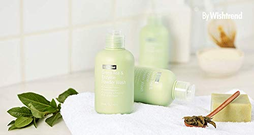 [BY WISHTREND] Green Tea Enzyme Powder Wash, cleanser, exfoliate, 70g, 2.47oz - Acid-wash Finish