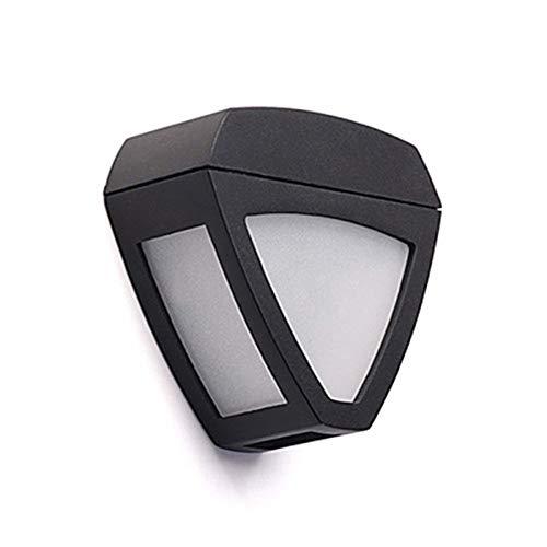 Zzyff Villa 2-LED Outdoor LED Solar Zaun Licht Wandleuchte Landschaft Pinup Pfad Garten Lampe Dauerhaft - Landschaft Beleuchtung-solar-pfad Lichter