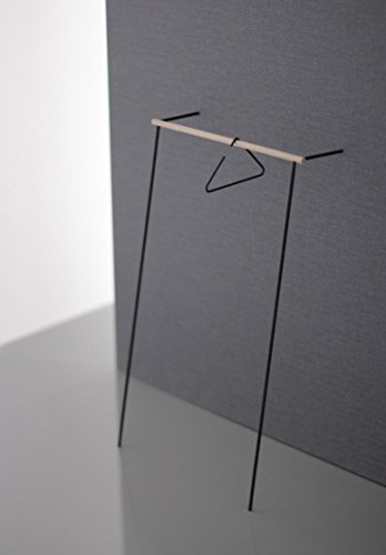 roomsafari leanoon II Anlehngarderobe | Gestell schwarz | Kleiderstange Eiche