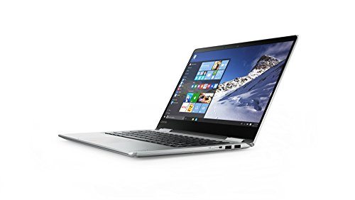 Lenovo YOGA 710 35,56cm (14 Zoll Full HD IPS) Slim Convertible Notebook (Intel Core i5-7200U, 8GB RAM, 256GB SSD, Intel HD Grafik 620, Windows 10 Home) silber