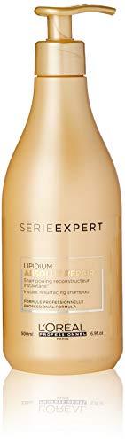 L'Oréal Professionnel Serie Expert Absolut Repair Lipidium Shampoo für weiches, seidiges und glänzendes Haar, 1er Pack (1 x 500 ml) -