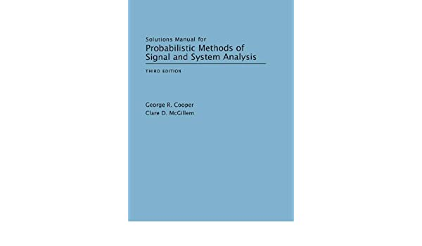 Bookstores. Com: solutions manual for probablistic methods of.