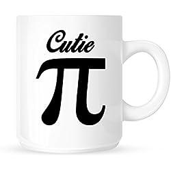 Cutie Pi–Fun Romantische Mathematische Tee/Kaffee Tasse/Cup–tolle Geschenkidee