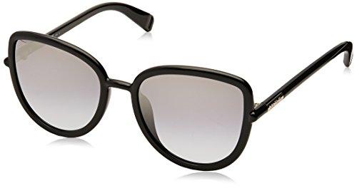 Max Max & Co. Damen CO.328/S GO 807 56 Sonnenbrille, Black/Grey Azure Silv