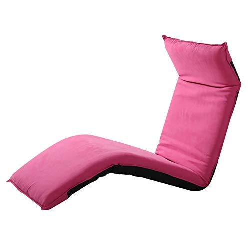 Puffs pera Silla de Piso Plegable Relajante sofá Cama Perezoso Asient
