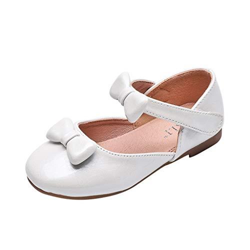 Precioul Kleinkind Schuhe Babyschuhe Mädchen Tanzschuhe Ballerinas Leder Schuhe Mädchen Krabbelschuhe Streifen-beiläufige Wanderschuhe Bow runden Kopf Prinzessin Schuhe