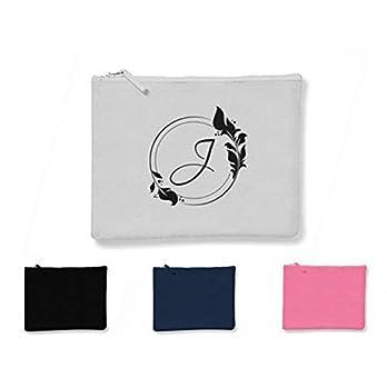 Monogramm Kosmetiktasche Beauty Bag Federtasche Schlampermäppchen mit Namen individualisierbar