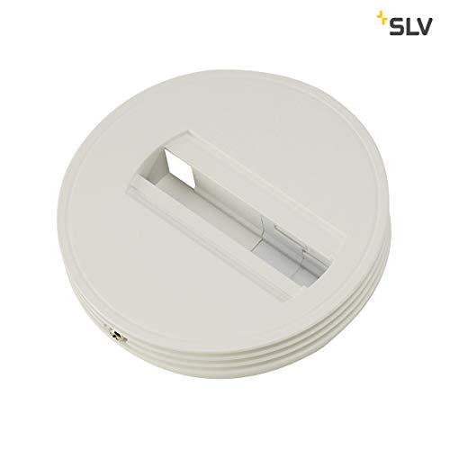 SLV DECKENROSETTE Spot für Hochvolt 1-Phasen-Aufbauschiene, Kunststoff, Weiß