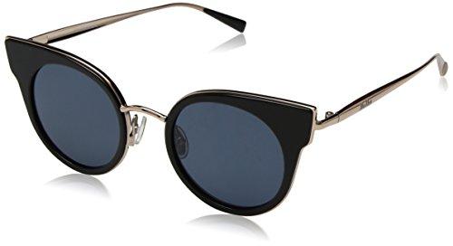 Max Mara Damen MM ILDE I 9A 26S 46 Sonnenbrille, Schwarz (Blk Gd Copper/Bluette),