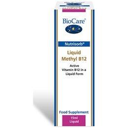 BioCare Nutrisorb Liquid Methyl B12, 15 ml by BioCare