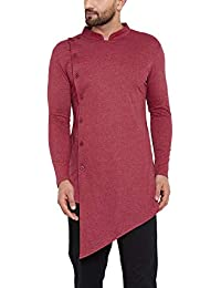HYPERNATION Men's Poly Cotton Regular Kurta