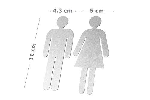 Cartello Per Bagno Donne : Set piastre legno adesivo cartello porta cartello ovale bagno