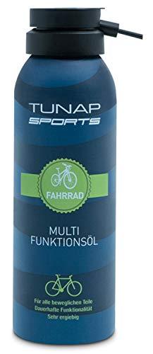 TUNAP Sports Multifunktionsöl, 125 ml | Spray für alle Teile am Fahrrad, Wartung und Pflege an...