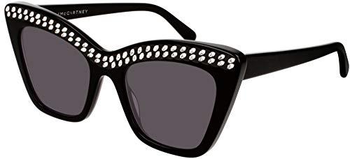 Stella mccartney occhiali da sole sc0167s black/grey donna