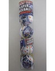 Jose Reyes Mets MLB Player Baseball Ornement de Noëls 4 Pack