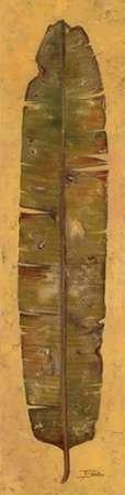 Feeling at home, Stampa artistica x cornice - quadro, fine art print, Banana Leaf II cm 198x51