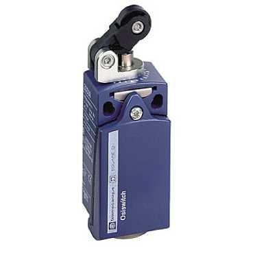Telemecanique capteurs Xckd2121g11Limit Switch avec rouleau en thermoplastique à levier, métal, série Xckd, Horizontal d'actionnement, linéaire Tête de piston, PG11presse-étoupe, 1NC + 1NO Snap Action contacts