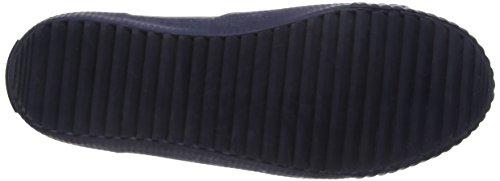 s.Oliver 45122, Scarpe da Ginnastica Alte Bambino Blu (Navy 805)