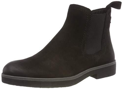Tamaris Damen 25310-21 Chelsea Boots, Schwarz (Black 1), 41 EU