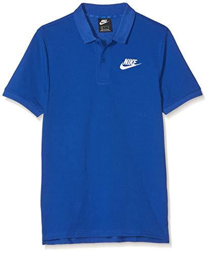 Nike Herren M NSW CE Matchup PQ Polo Shirt, Indigo Force/White, M -