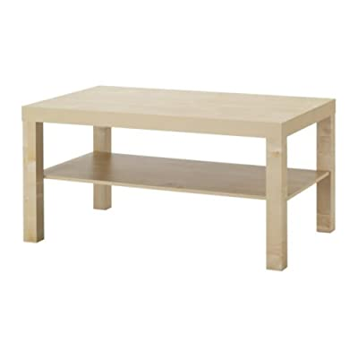 Coffee Table In BIRCH EFFECT 90 X 55 X 45 CM (IKEA)