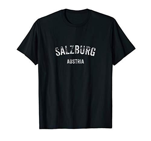 Salzburg Österreich Vintage Reise Urlaub Urlaub Souvenir T-Shirt