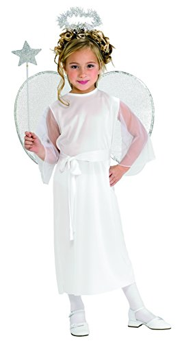 RUBIES KOSTÃœM KARNEVAL KINDER WHITE ANGEL TG.M 5/7 (M&m Kind Kostüme)