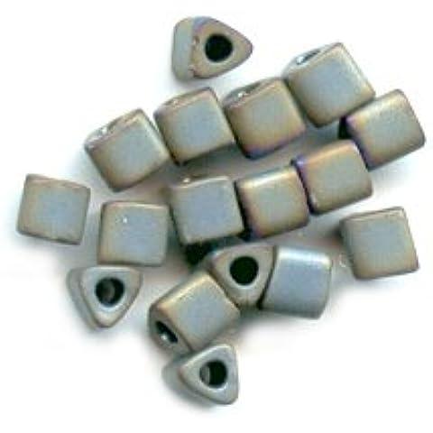 Triangoli Toho 11/0 TG613 - Grey Mat Iris