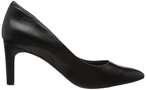 Rockport Total Motion Valérie Luxe Pompe, Closed Toe Chaussures À Talons Femme Noir (noir)