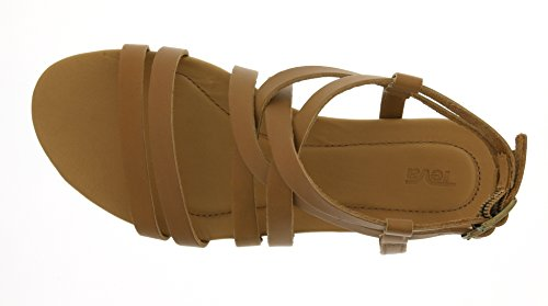 Teva Damen Avalina Crossover Leather W's Sport-& Outdoor Sandalen Beige (tan 831)