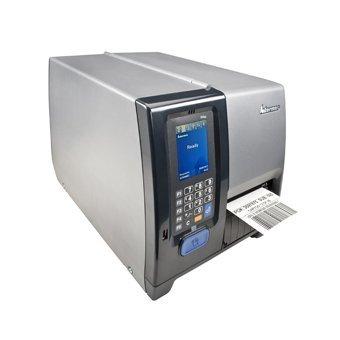 Barcode-drucker Seriell (Intermec Pm43A11000040401 Serie Pm43 Tt Desktop-Drucker, 406 Dpi, Touch-Oberfläche, Seriell, Usb, Ethernet, Aufwickler + Lts,   Fester Aufhänger, Uns Netzkabel)