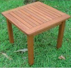 Table Salon balau cm 50 x 50