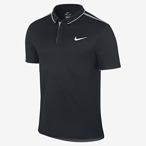 Nike Herren Dri-Fit Stay Cool Farbe Dry Tennis Polo Shirt
