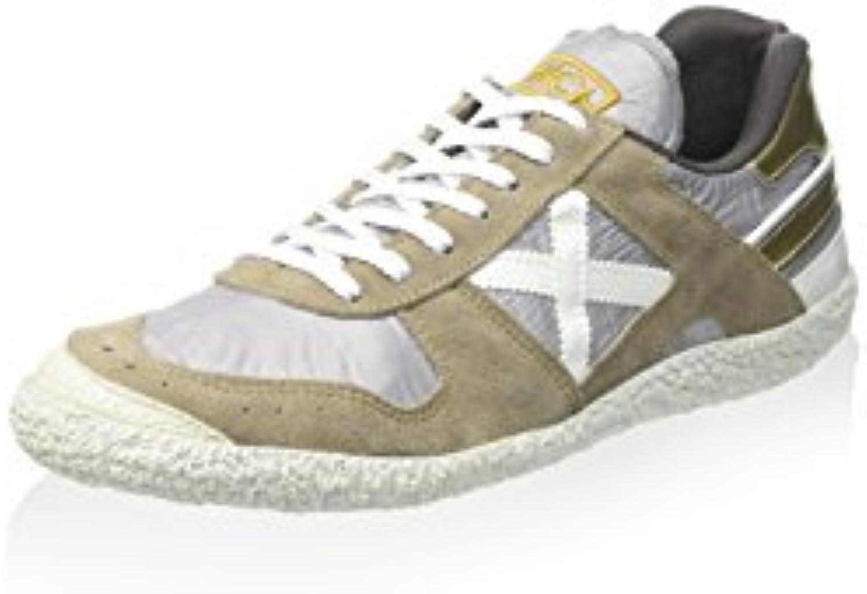 Munich Unisex Erwachsene Goal Sneaker  Beige/Grau  36 EU