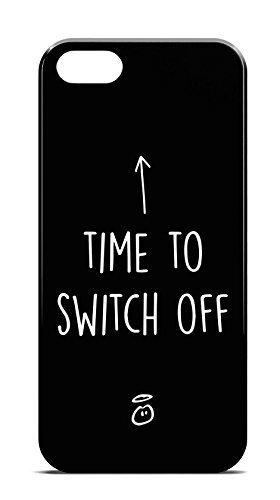 Switch off für iPhone 6 Hipster Hülle Cover Case Bumper Schutzhülle Schale Swag Loomiloo®