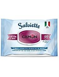 Camon Lingettes myrrhe et chlorhexidine pour chiens et chats
