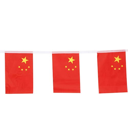 SimpleLife China-Flaggen-Girlanden-Nationale Land-Fahnen-Aktivitäten, die Sport-Partei öffnen