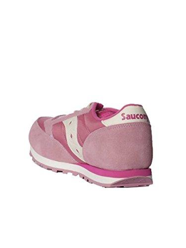 Scarpa Bimba Jazz Original Kids Saucony SY56445 MainApps Rosa/Bianco